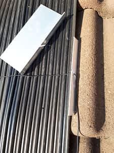 installatie stap 5 aluminium zijkant