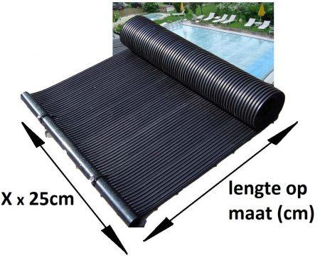zonnecollector op maat afmetingen